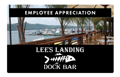 Lee's Landing Employee Appreciation Gift Card