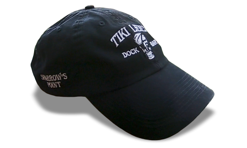 Tiki Lee's Dock Bar Hat - Black