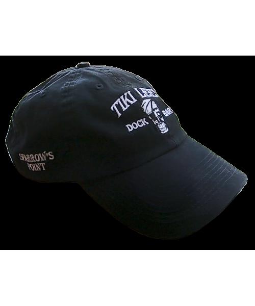 Tiki Lee's Dock Bar Hat - Black