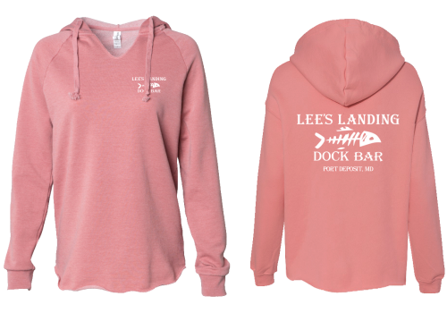 Lee's Landing Dock Bar Hoodie - Rose