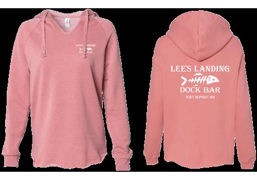 Lee's Landing Dock Bar Hoodie - Rose