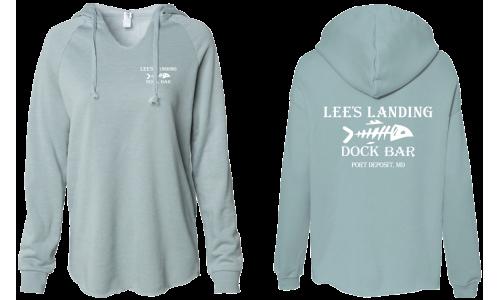 Lee's Landing Dock Bar Hoodie - Sage