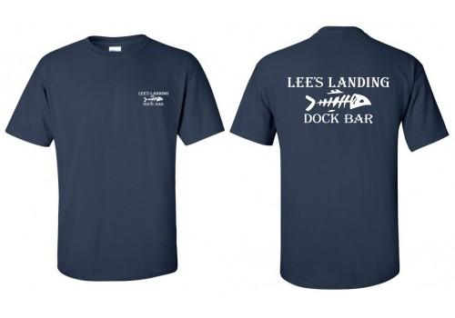 Lee's Landing T-Shirt - Navy