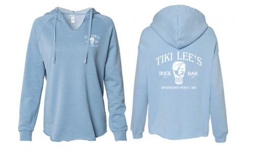 Tiki Lee's Hoodie - Blue