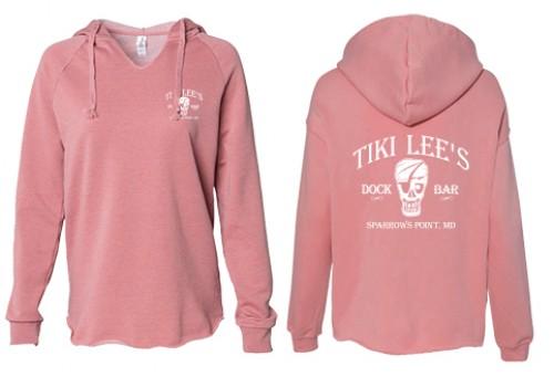 Tiki Lee's Hoodie - Dusty Rose
