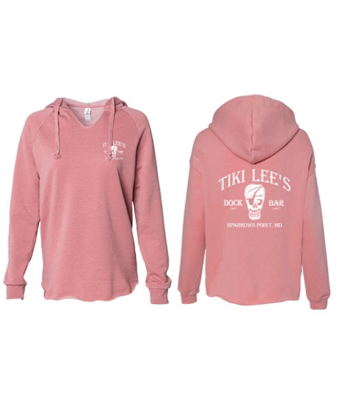 Tiki Lee's Hoodie - Dusty Rose