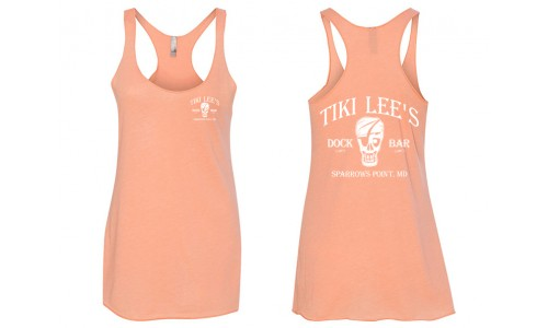 Tiki Lee's Women's Tank - Orange
