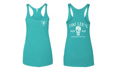Tiki Lee's Women's Tank - Teal