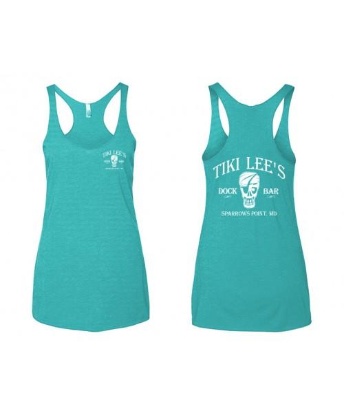 Tiki Lee's Women's Tank - Teal